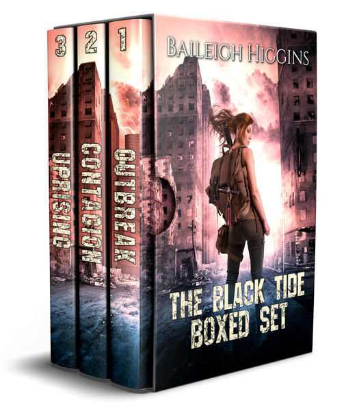 The Black Tide: Boxed Set (A Post-Apocalyptic Trilogy) by Baileigh Higgins