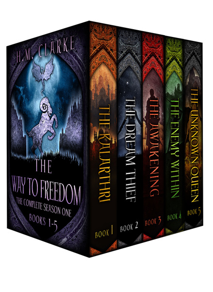 The Way to Freedom: The Complete Season One (Books 1-5) Digital Boxed Set by H.M.Clarke