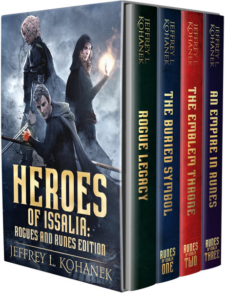 Heroes of Issalia: Complete Runes of Issalia series & prequel by Jeffrey L. Kohanek