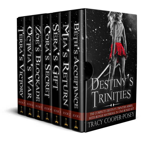 Destiny's Trinities by Tracy Cooper-Posey