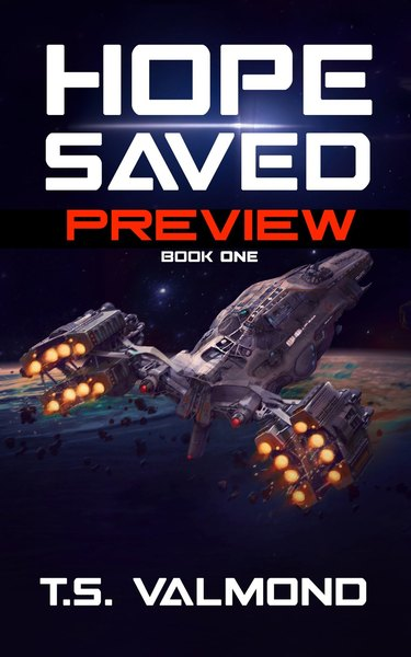 Hope Saved ~ Preview by T.S. Valmond