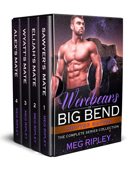 Werebears Of Big Bend Box Set by Meg Ripley