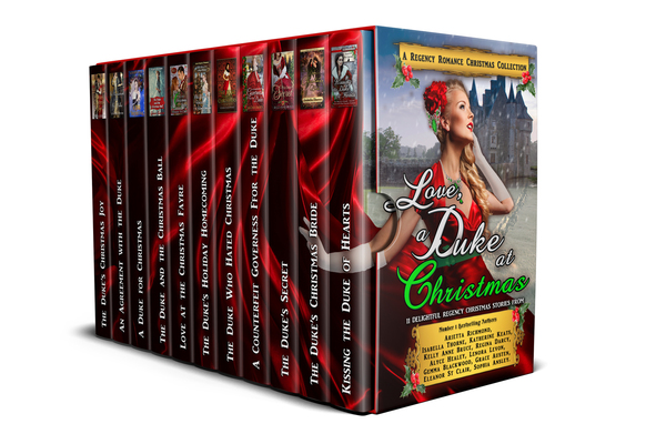 Love at the Christmas Ball A Regency Romance Collection by Isabella Thorne
