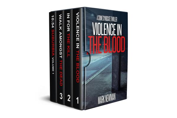 Crime Syndicate Boxset Books 1-3 + Bonus Material by Mark Newman