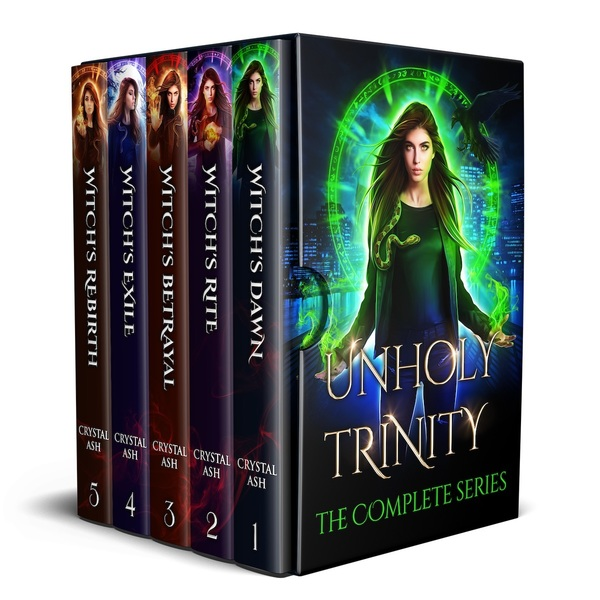 Unholy Trinity Complete Series by Crystal Ash