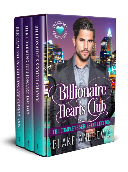 Billionaire Hearts Club: The Complete Series Box Set by Blake Andrews