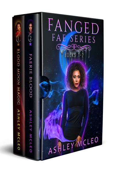 Fanged Fae Series by Ashley McLeo
