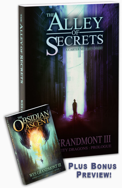 The Alley of Secrets by Wes Grandmont III
