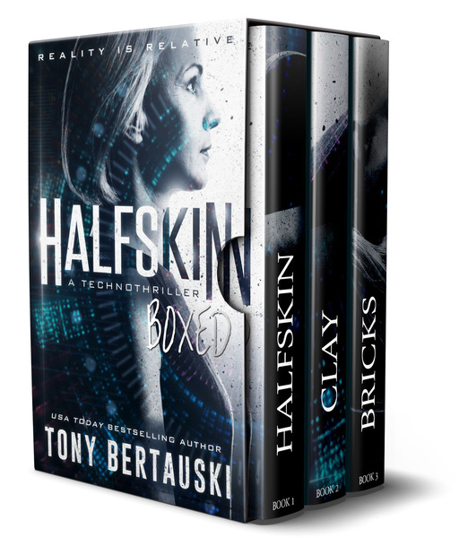 Halfskin Boxed by Tony Bertauski