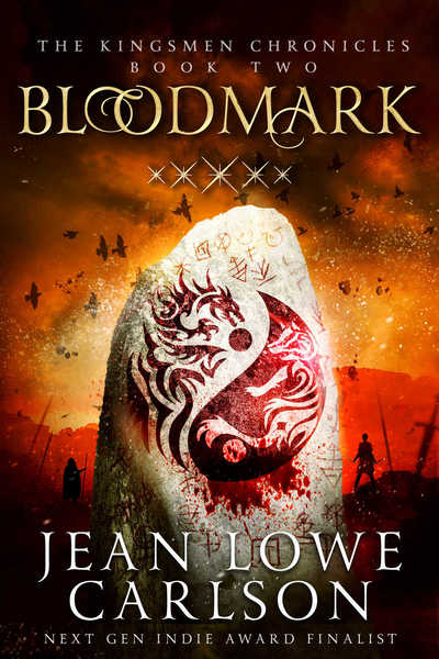 Bloodmark (The Kingsmen Chronicles #2) by Jean Lowe Carlson